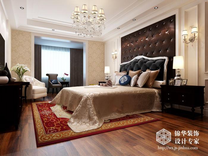 元世家160平三室两厅两卫简欧风格效果图装修 大户型 简欧风格 无锡