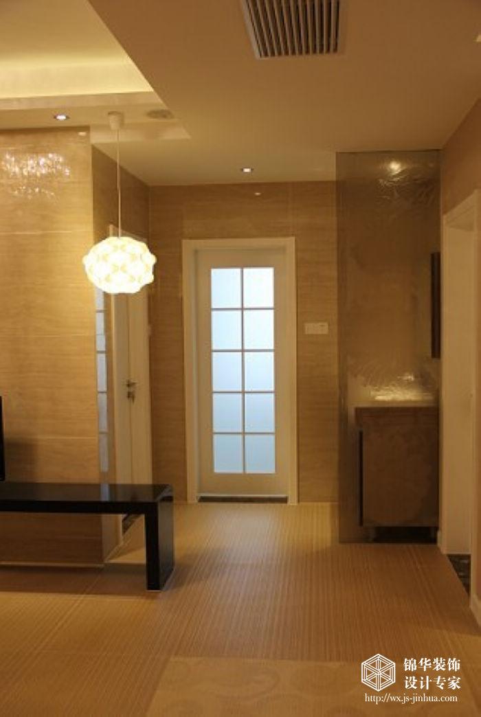 无锡太湖国际两室两厅一卫现代简约风格实景图装修 两室两厅装修效果