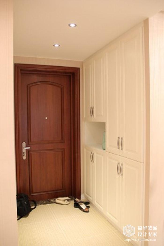 景图装修 两室两厅装修效果图 现代简约风格 无锡锦华装饰