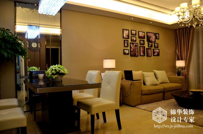 二室两厅现代简约风格实景图装修 两室两厅装修效果图 现代简