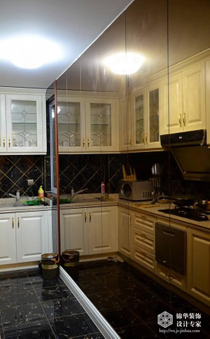 廚房裝修效果圖-裝修圖片-無錫錦華裝飾