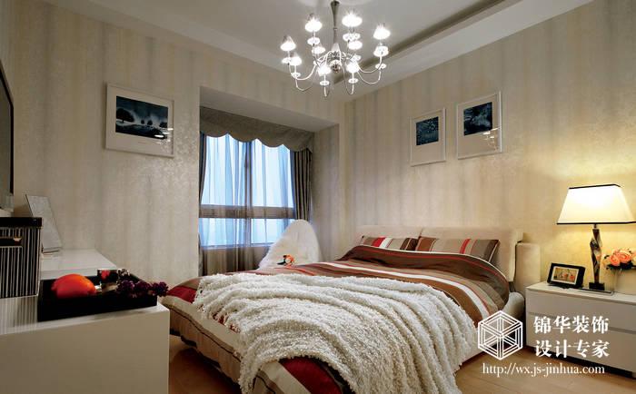 湖滨壹号138平现代简约风格实景图装修-三室两厅-现代简约