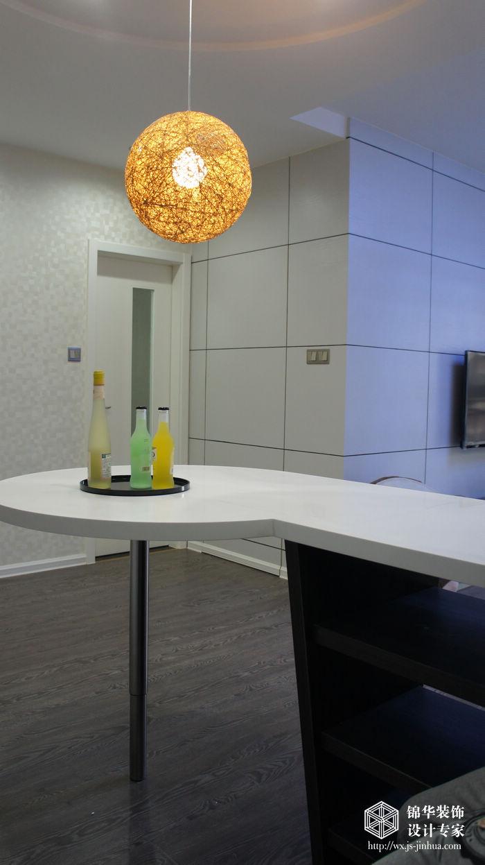 奥林匹克花园83平现代简约风格实景样板间装修 两室一厅装