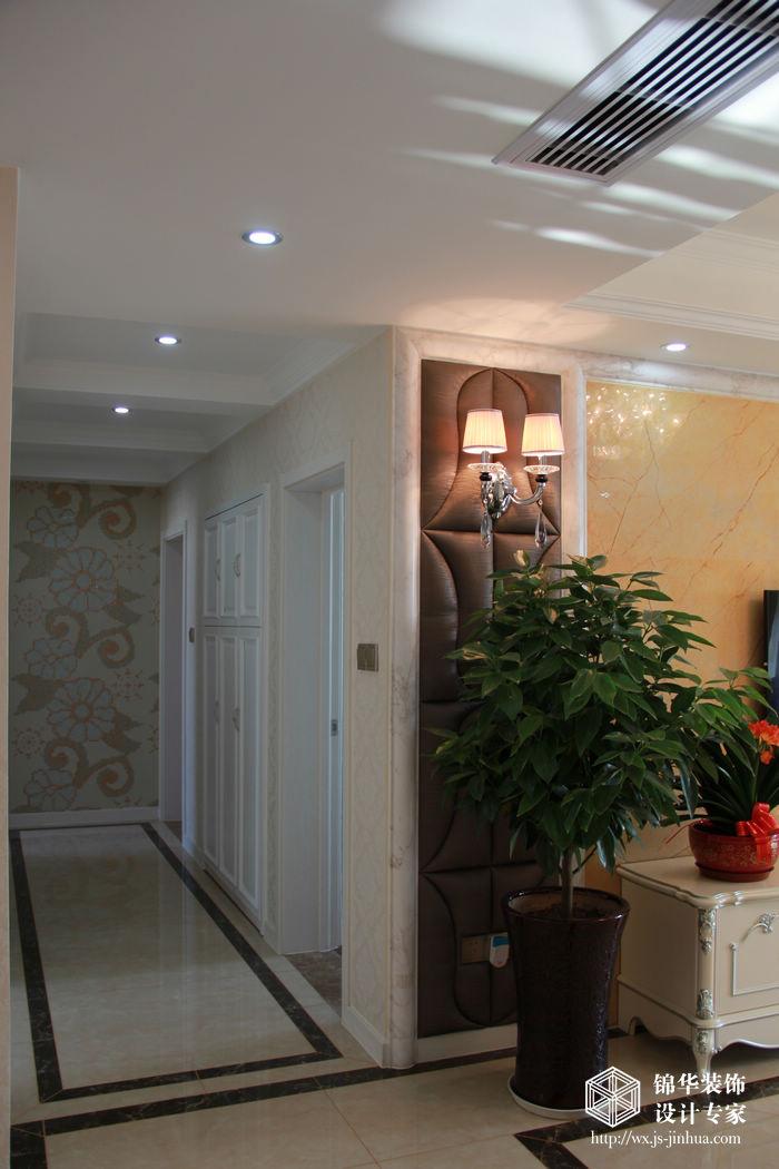百乐和园135平三室两厅两卫简欧风格实景图装修-三室两厅-简欧