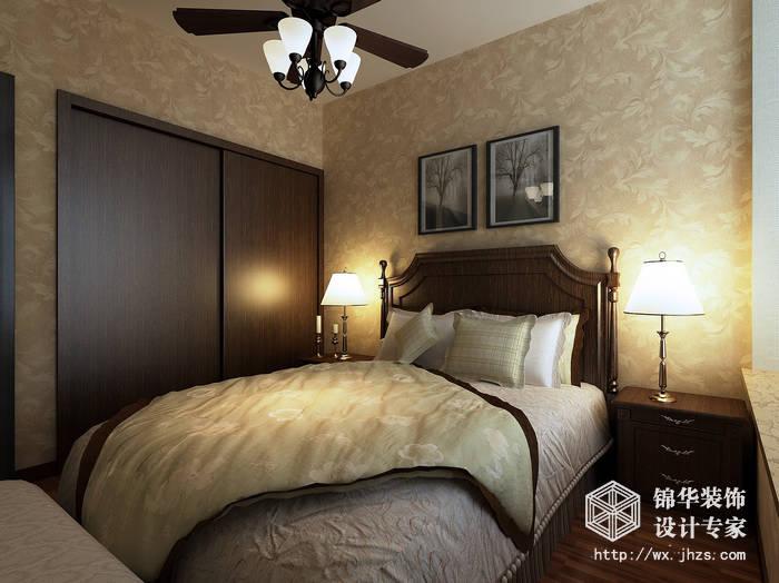 恒基誉珑湖滨90平现代简约风格效果图装修-两室两厅-现代简约