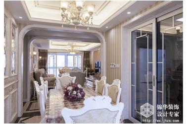 简欧风格-西水东-四室两厅-176平米-装修效果实景图