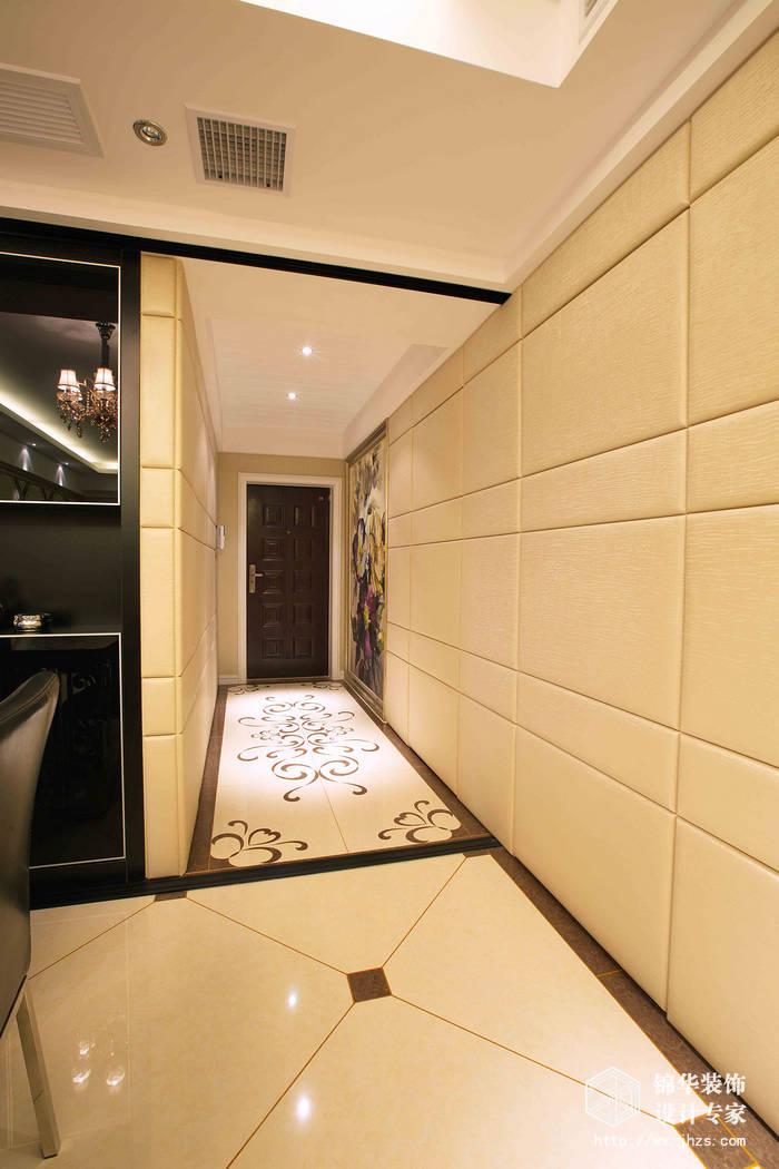 阳光城市花园三期120平三室二厅二卫混搭风格实景样板间装修-三室两厅-混搭