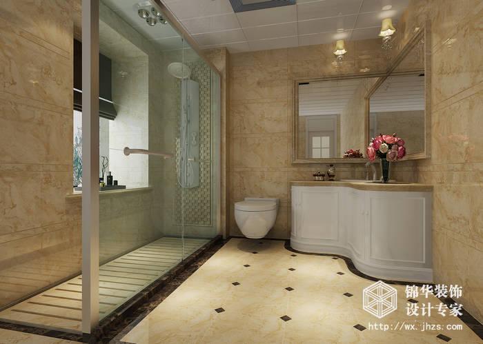 天元世家180平复式欧式风格实景样板间装修-大户型