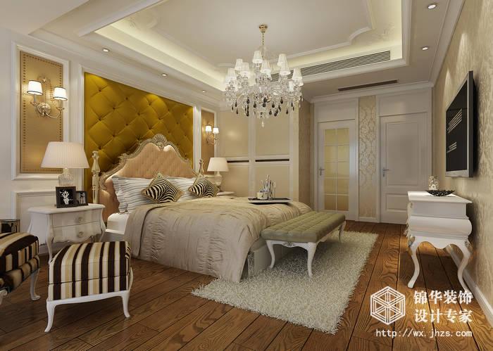 本案为欧式风格,运用了古典的设计元素,让业主身处其中可以充分享受生活。本案的空间颜色搭配使得整体效果非常有气势,非常大气。此外,一层的厨房为开放式与客餐厅连通,开阔大气的空间布局也让人神清气爽,也传递一种低调奢华的生活态度,既有欧式生活的贵气与精致,又无