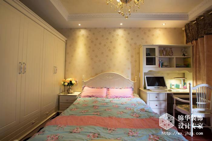 波士顿公馆140平三室两厅两卫简欧风格实景图装修-三室两厅-简欧