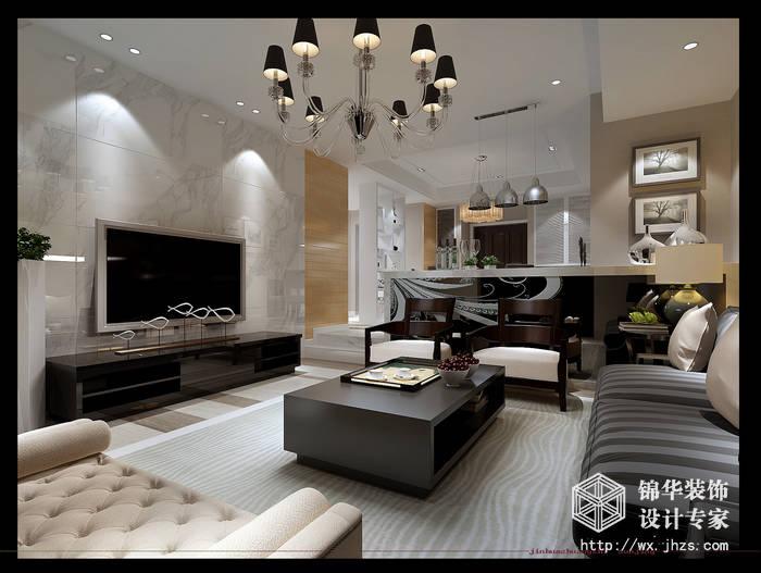 室两厅简约风格装修效果图