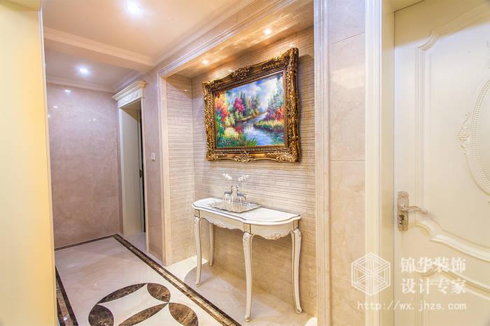 平新法式风格实景样板间装修-别墅图片大全-简欧风格