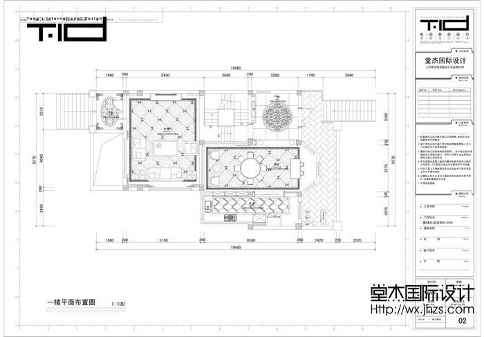 奥林匹克花园别墅效果图装修-别墅-欧式古典