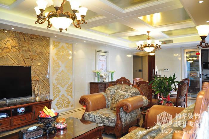 太湖国际195平 图四室两厅两卫欧式风格 实景照