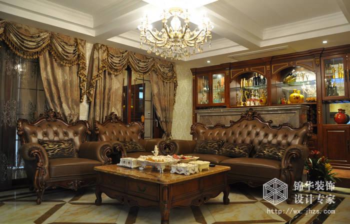 长江国际泓园250平复式结构古典欧式风格实景