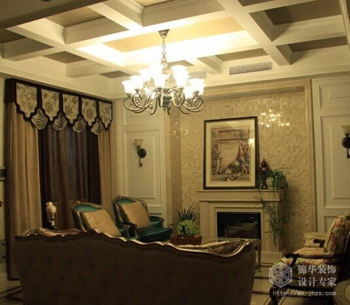 蠡湖公馆欧式风格联排别墅实景样板间装修 别墅图片大全 欧式古典风