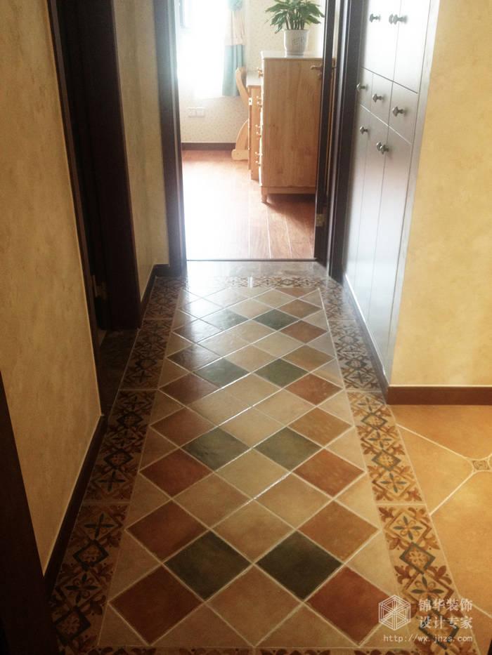 时代上城繁华里139平四室两厅一厨两卫简美式风格实景图装修-大户型-美式田园