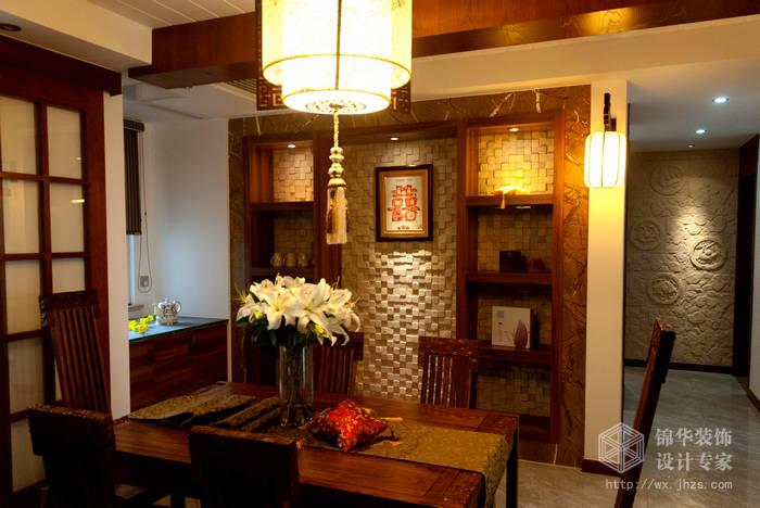 混搭风格-百大奥澜半岛-三室两厅-128平-装修效果实景图