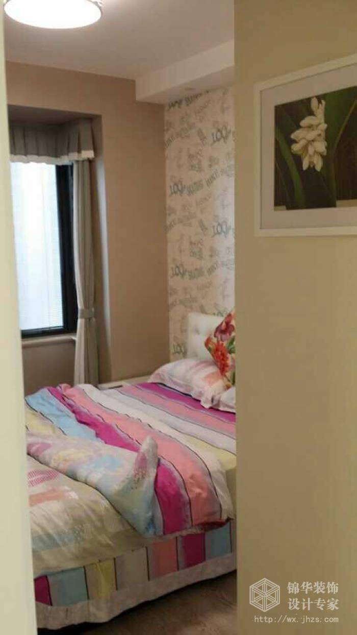 86平三室两厅现代风格实景样板间装修 三室两厅装修效果图