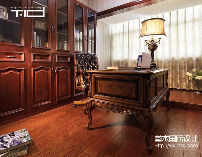地澜湾380平美式风格别墅实景样板间装修 别墅图片大全 新古典风格 高清图片