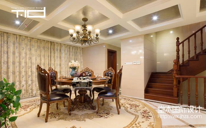 地澜湾380平美式风格别墅实景样板间装修 别墅图片大全 新古典风格