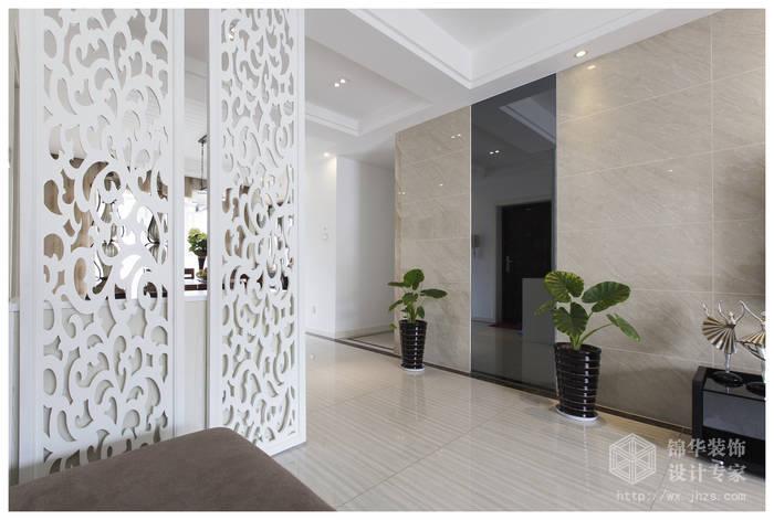 现代简约风格-复地公园城邦-三室两厅-130平米-装修实景效果图