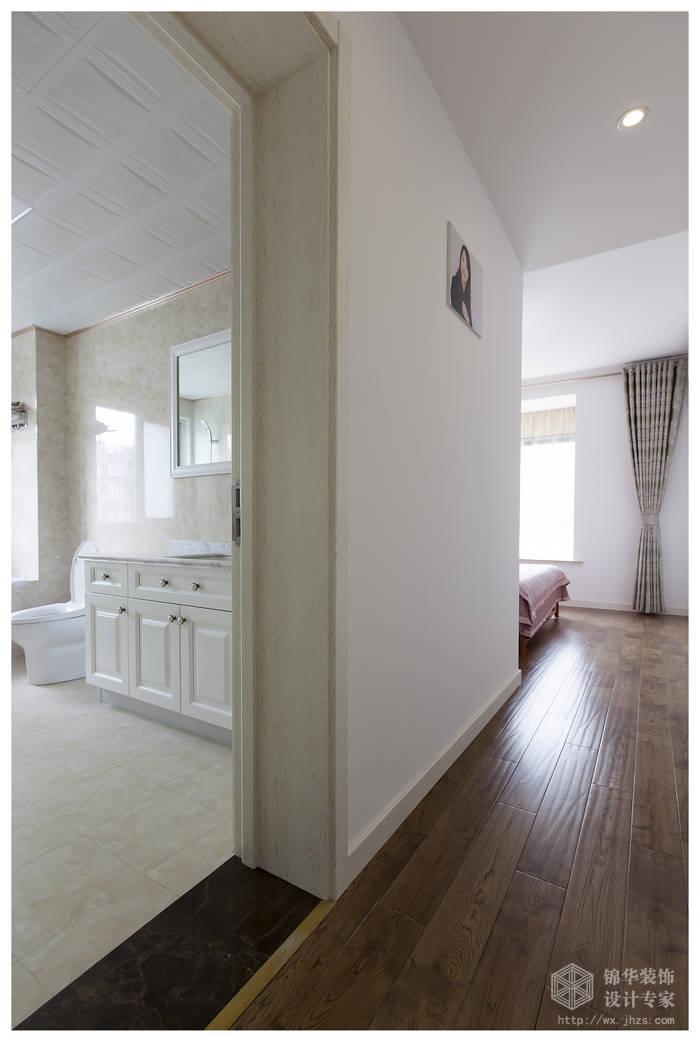 现代简约风格-复地公园城邦-三室两厅-130平米-过道-装修实景效果图