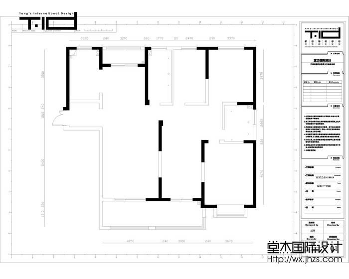 京梁合200平新中式风格效果图装修-大户型-新中式