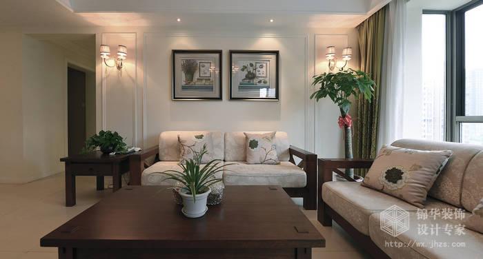 样板间装修-三室两厅装修效果图-美式乡村(田园)风格