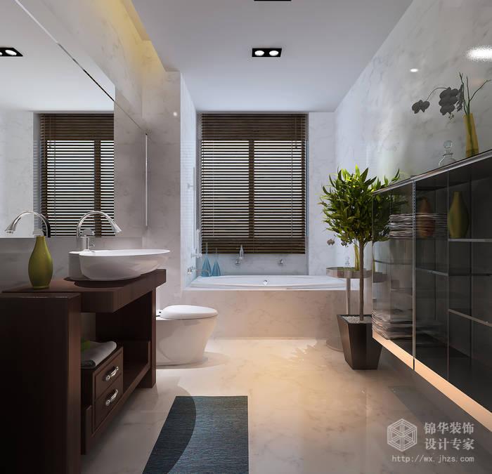 西水东136平三房两卫两厅现代简约风格效果图装修 三室两厅装修效果
