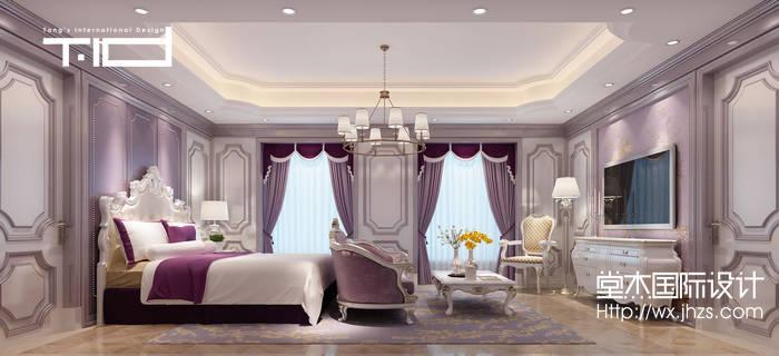 阳山优博园450平古典风格别墅设计效果图装修-别墅-新古典