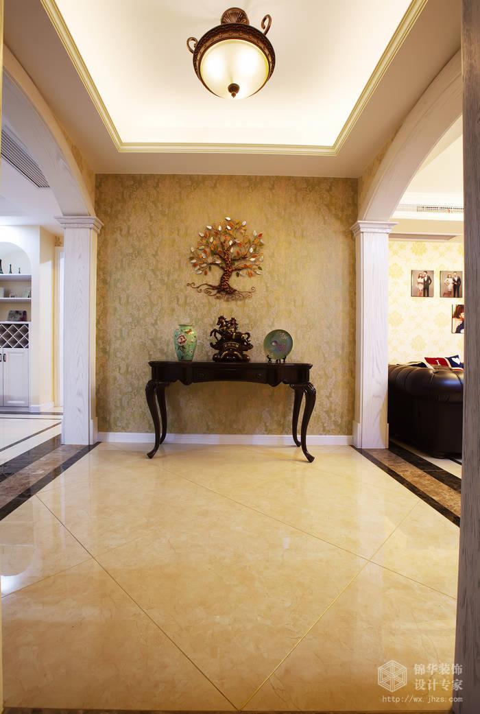 水韵花园洋房150平美式风格实景样板间装修 大户型