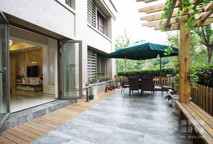 太湖国际89+86平两套打通现代简约风格实景样板间装修-大户型-现代简约
