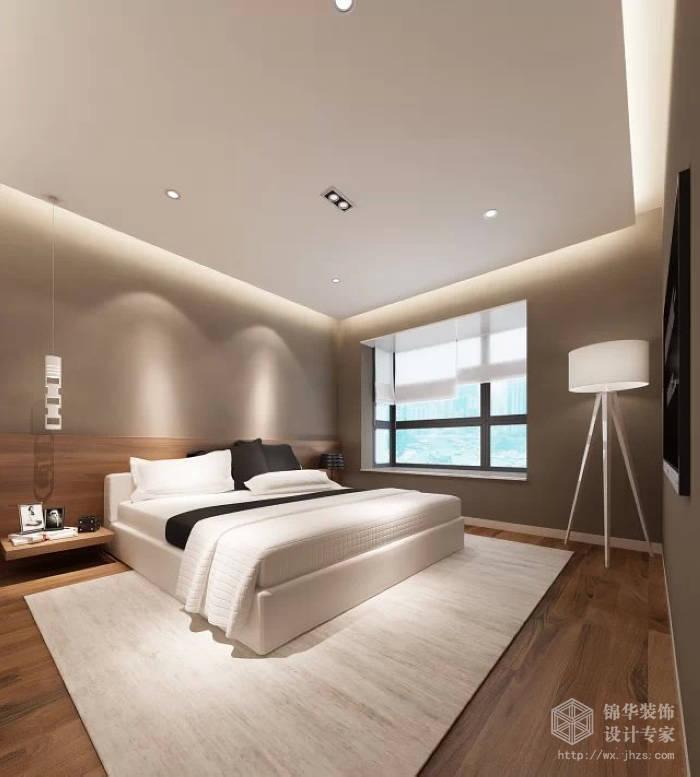 百乐时代广场93平两室两厅一卫现代简约风格效果图装修 两室两厅装高清图片