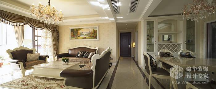 碧桂园127平简欧风格实景样板间装修-三室两厅-简欧图片