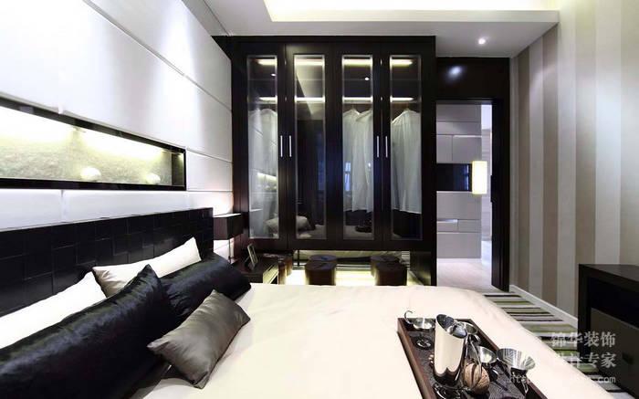 欧风新天地123平三室两厅现代简约风格效果图装修 三室两厅装修效果