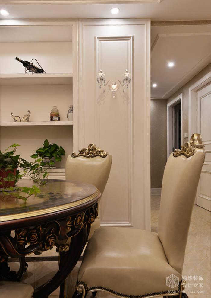 玉兰花园163平三室二厅二卫简欧风格实景样板间装修-三室两厅-简欧