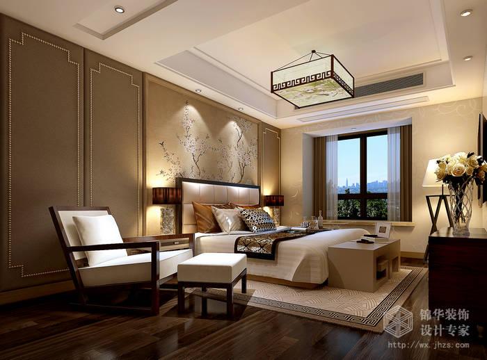 简中风格-国信世家-四室两厅-200平-装修效果图装修-大户型-新中式
