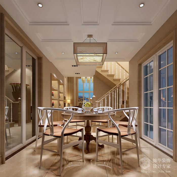 简中风格-国信世家-四室两厅-200平-卧室-装修效果图餐厅