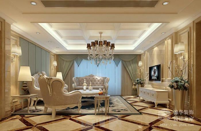 花样年花郡188平四室两厅后现代奢华风格效果图