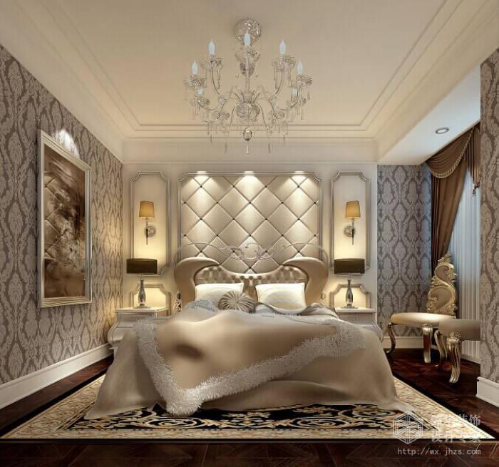 8平四室两厅后现代奢华风格效果图