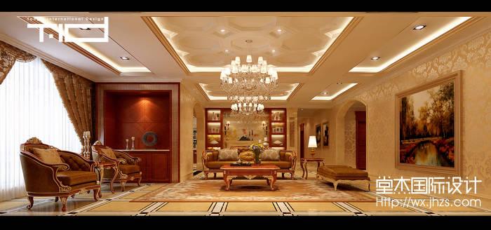 自建别墅欧式风格效果图装修-别墅-欧式古典