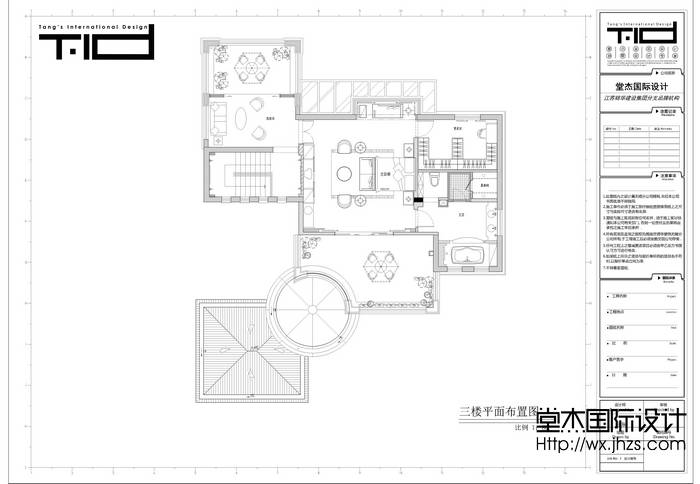 南苑花园450平欧式风格别墅实景图装修-别墅-欧式古典