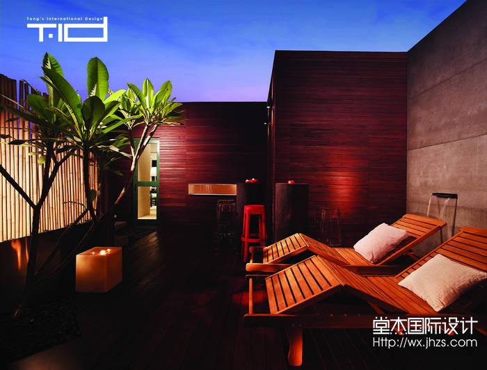 中式风格-清扬康城-别墅-380平-装修效果图