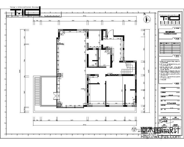 西水东330平装饰艺术风格实景样板间装修-大户型-混搭