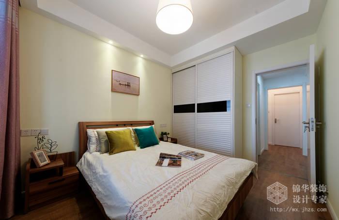海岸城83平现代简约风格实景图装修-两室两厅-现代简约
