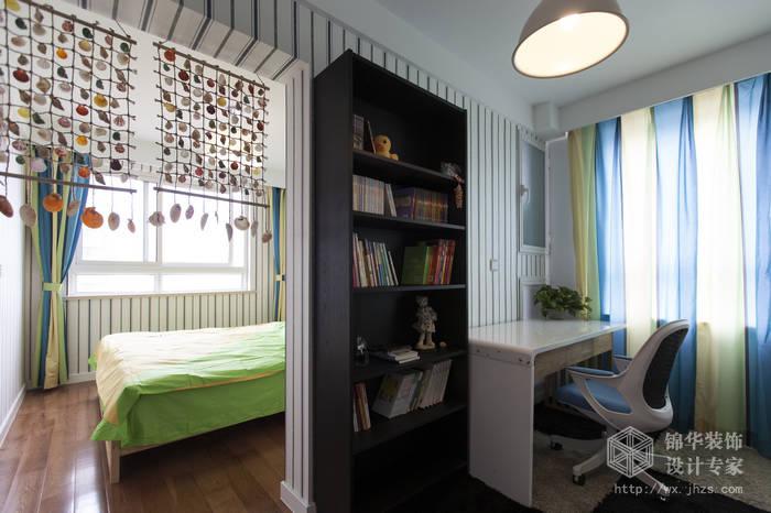 顿105平三房两厅两卫现代简约风格实景样板间装修 三室两厅装修效