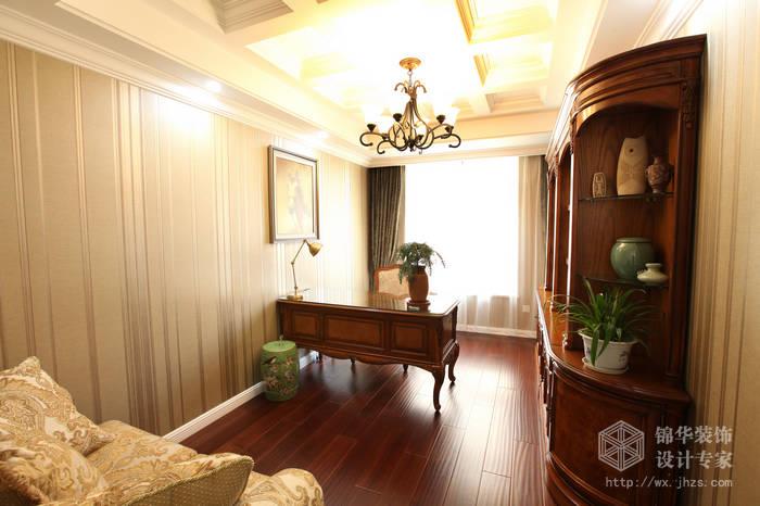 苏宁天氿御城220平简欧风格实景样板间装修-大户型-简欧