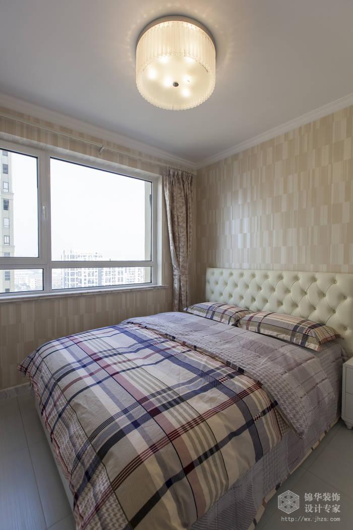 绿地世纪城115平混搭风格实景样板间装修-两室两厅-混搭