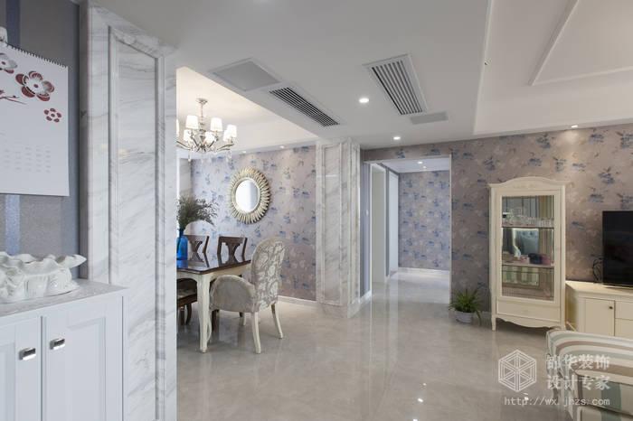 混搭风格-绿地世纪城-两室两厅-115平-过道-装修效果实景图